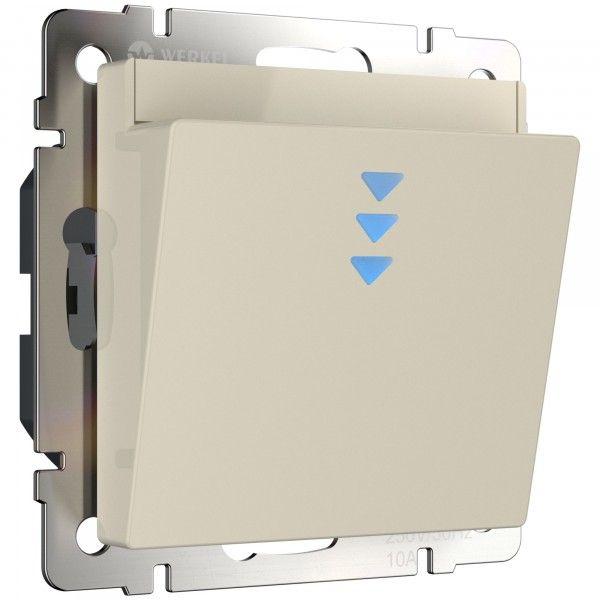 WL03-01-03 Электронный карточный выключатель (слоновая кость)